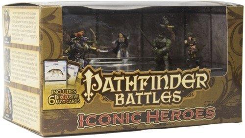 Pathfinder Battles HeroClix - Pathfinder Iconic Heroes Box 5 - EN Pathfinder-miniaturen