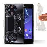 Stuff4 Gel TPU Hülle / Hülle für Sony Xperia Z2 / Playstation PS4 Muster / Spielkonsolen Kollektion
