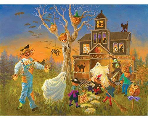 Teile Halloween DIY Moderne Wandkunst Einzigartiges Geschenk Home Decor ()
