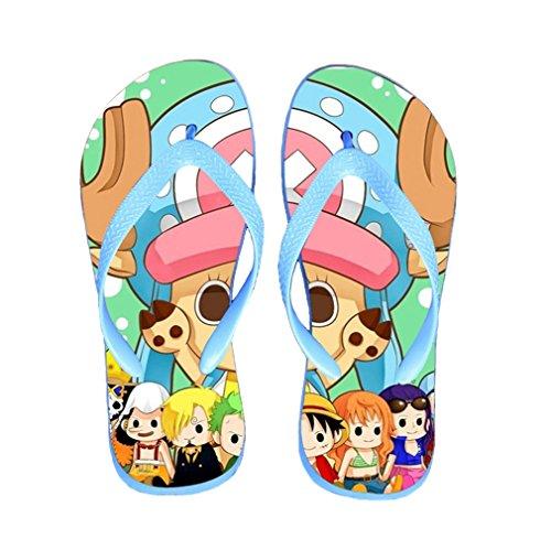 Bromeo One Piece Anime Unisexe Flip Flops Tongs 357