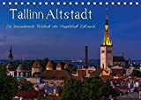 Tallinn Altstadt (Tischkalender 2018 DIN A5 quer): Rundgang durch die mittelalterliche Alstadt Tallinns (Monatskalender, 14 Seiten ) (CALVENDO Orte) [Kalender] [Apr 01, 2017] Wenk, Marcel