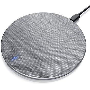 evershop fast wireless charger metallgeh use qi. Black Bedroom Furniture Sets. Home Design Ideas