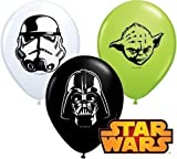 Star Wars Gesichter Sortiment 12.7cm Qualatex Latex Ballons x 20