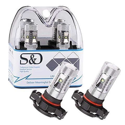 S&D 2 X H16 High Power XPE Cree LED Super