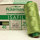 Ackermann Stickgarn - ISAFIL - apfelgrün - Farbe Nr.