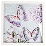 3D Butterfly Art Hanging Wall Plaque Box Frame Picture 30cm x 30cm
