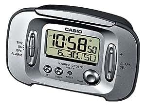 Casio - DQD-70B-8EF - Réveil - Radio Piloté - Quartz Digitale - Alarme répétitive - Eclairage LED