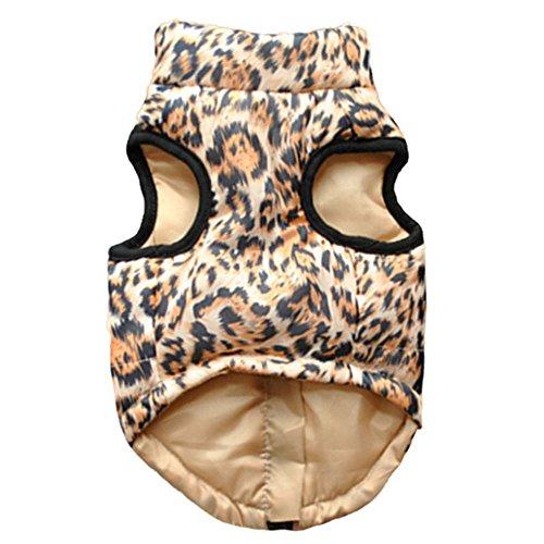 Hunde-Jacke/Pullover, Haustier Hund Warm Mantel Jacke, Wasserdichte Kleidung f¨¹r kleine, mittelgro?e und gro?e Hunde -