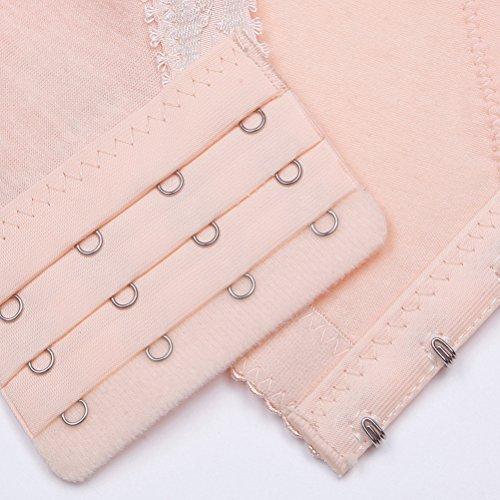 Zhhlaixing Women's Reggiseno Allattamento Maternity Cotton Nursing Bras Breastfeeding Breast Soft Rim Bra Breastfeeding Nude