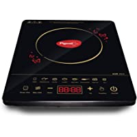 Pigeon by Stovekraft Acer Plus Induction Stove, cooktop, Chula of 1800 watts with Feather Touch Control, 8 preset menu…