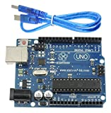 [Sintron] Arduino kompatibles UNO R3 Board ATMEGA328P + USB Kabel + Reference PDF Files for Arduino's IDE