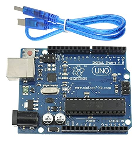 [Sintron] UNO R3 ATMEGA328P + USB Cable + Reference PDF