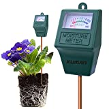 Bodentester digitales Bodenmessgerät für Pflanzen Kuman S10 Soil Moisture Sensor Meter, Hygrometer soil water monitor for Garden, Farm, Lawn Plants Indoor & Outdoor(No Battery needed)KP02
