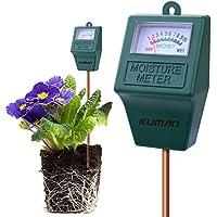 Kuman S10Sensor de Humedad del Suelo Meter, higrómetro Suelo Monitor de Agua para el jardín, Granja, césped Plantas Interior y Exterior (no Necesita batería) KP02