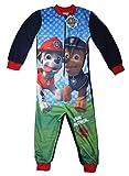 Paw Patrol Offizielles Lizenzprodukt Einteiler Overall Schlafanzug Nachtwäsche Loungewear Für Jungen Mädchen