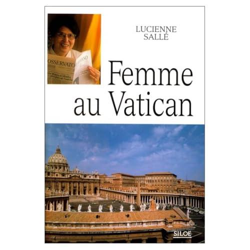 Femme au Vatican