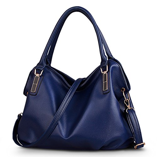 FAIRYSAN, Borsa a mano donna rosso wine red dark blue