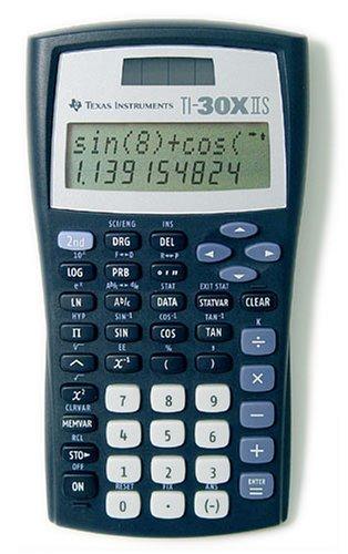Texas Instruments 30 X II Solar Taschenrechner - Ti30 Taschenrechner Wissenschaftlicher