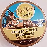 TAHI'SUN - Graisse à traire -Scintillante Bronzage Sublime Parfum Tiaré en Pot - 150ml