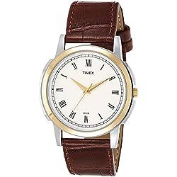 Timex Analog White Dial Men's Watch-TW00ZR119