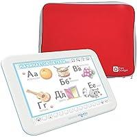 DURAGADGET Funda De Neopreno Roja para Tablet Educa Touch - Érase una Vez | Aprendo Ingles