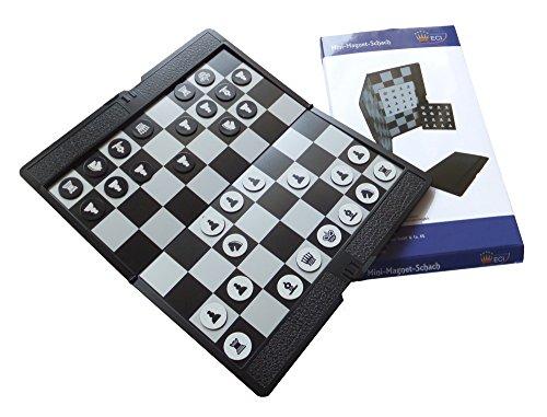 SchachQueen - Mini Magnetschach Reiseschach magnetisch