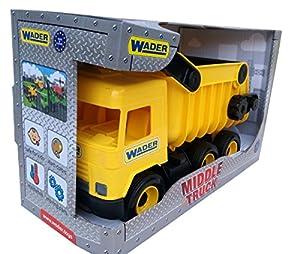 Tigres 32121 Auto - Tipeador de Camiones en una Caja, Color Amarillo, Talla única