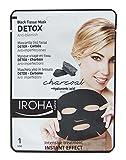 Iroha Detox-Maske mit Aktivkohle und Hyaluronsäure, 3er Pack (3 x 23 ml)