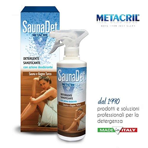 Galleria fotografica Detergente e Igienizzante per Sauna a base Vegetale - SaunaDet 500ml SPEDIZIONE IMMEDIATA