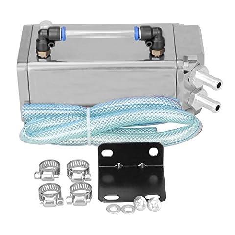 Iglobalbuy Silver Universal Aluminum D1 Square Car Racing Billet Engine