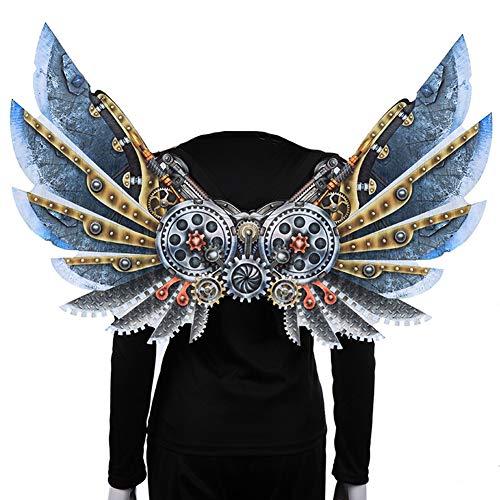 Punk-Stil Halloween Flügel Dekoration für Erwachsene und Kinder,Karnevalsfeier,Kostümpartys und - Sich Kleiden Wie Ein Mann Kostüm