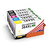 Toner Kingdom 5 Pack Kompatibel HP 364XL 364 Tintenpatronen Für HP 364XL 364 Druckerpatronen Für HP Photosmart 5520 6520 7510 5510 5514 5515 5524 6510 7520 D5460 C6380 C5380 Deskjet 3070A 3520 3522 3524 Officejet 4620 4622