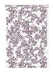 Gardinia 33023 Easyfix Decor Rollo, 100 x 150 cm, zum Klemmen und Kleben, Rispe weiß/violett
