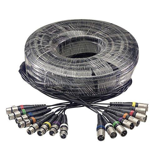 Stagg 25018309 SML30/8XF8XM E Multicore Kabel (30 m, 8 XLRf auf 8XLRm)