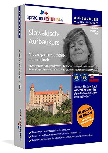 Slowakisch-Aufbaukurs: Lernstufen B1+B2. Lernsoftware auf CD-ROM + MP3-Audio-CD für Windows/Linux/Mac OS X. Fließend Slowakisch lernen für Fortgeschrittene mit Langzeitgedächtnis-Lernmethode