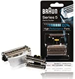Braun Replacement Foil & Cutter - For 51s Series 5 and 8000 Series Activator, Contour Pro, 360 Complete