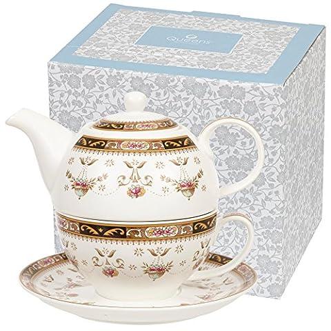 Queens Classic Set thé pour une personne-Coffret cadeau