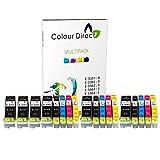 Colour Direct - 3 Ensembles + 3 Noir - 33XL Compatible Cartouches d'encre Remplacement Pour Epson XP-530 XP-540 XP-630 XP-635 XP-640 XP-645 XP-830 XP-900 Imprimantes.