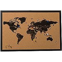 Carte du monde en liege - Carte du monde en liege ...
