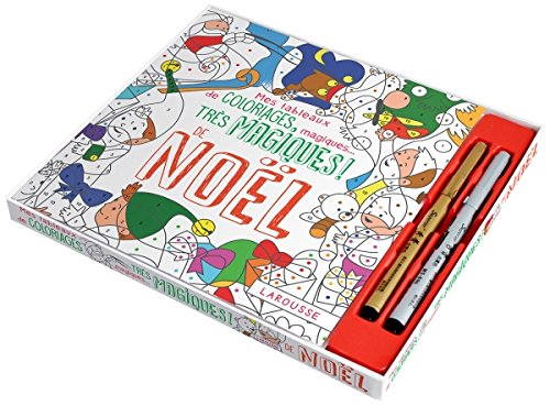 Mes tableaux de coloriages magiques. très magiques ! de Noël