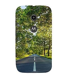 EPICCASE Beautiful Nature Mobile Back Case Cover For Moto E 2nd Generation (Designer Case)