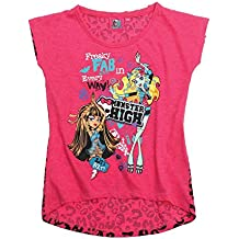 Monster High Fille Tee-shirt - fushia