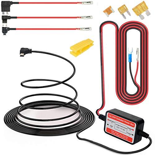 Gebildet Dash Cam Hardwire Kit Mini USB 12V-24V bis 5V, Niederspannungsschutz ACN/ACS/ACU Fügen Sie einen Sicherungshalter für die Schaltung hinzu