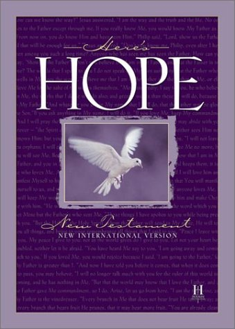 Bible New International Version: Here's Hope New Testament