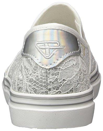 Tamaris Ladies 24615 Slipper White (offwht.macrame 136)