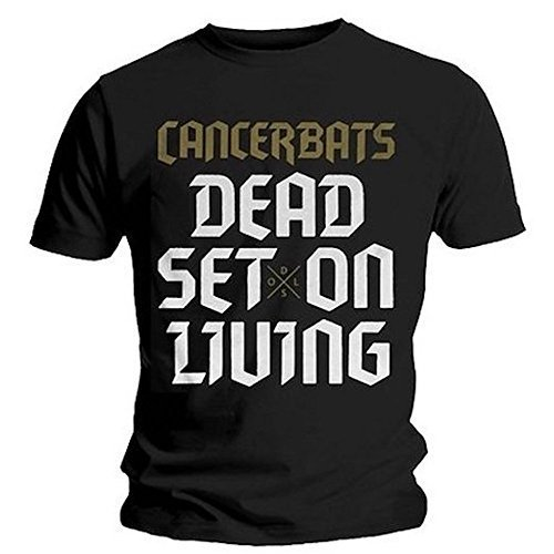CANCER BATS - DEAD SET ON LIVING - OFFICIAL MENS T SHIRT