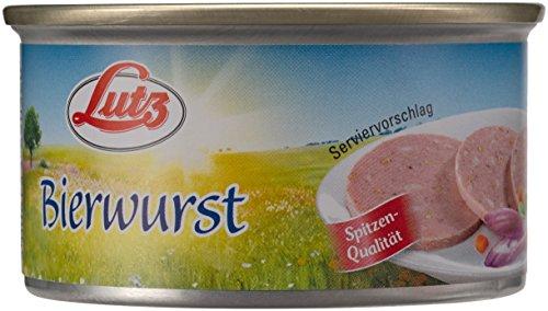 Lutz Bierwurst, 12er Pack (12 x 125 g)