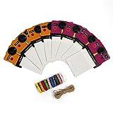 Polaroid bunte OneStep Vintage-Fotorahmen für 2x3 ZINK-Papier (Snap, Zip, Z2300) Rosa und orange