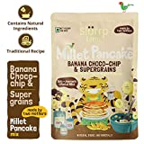 At slurp farm we make honest and healthy food just like you would at home. So, this pancake mix has no preservatives, no artificial flavours and no colours. It is filled with the goodness of oats, foxtail millet, amaranth and jowar, natural banana an...