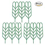Cozyhoma Garten-Spalier für Topfpflanzen, Blattform, Gemüse, Blumen, Terrasse, Klettern, Rankgittern